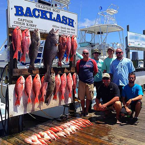 offshore fishing catches