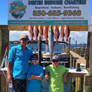 family fishing trip in destin